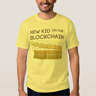 New Kid on the Block Chain Tshirt