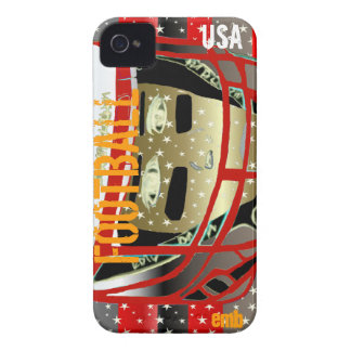 New Kids Football Art iPhone 4S & 4 Case Xmas Gift iPhone 4 Case