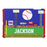 New Kids Sport Baseball Personalised iPad Cover