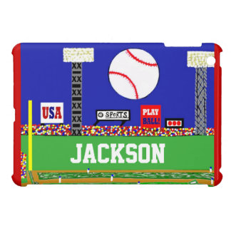New Kids Sport Baseball Personalized iPad Cover