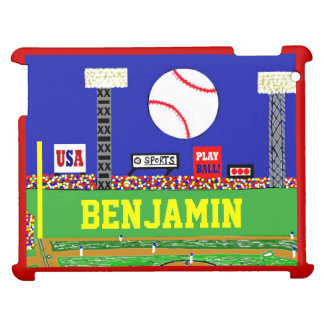 New Kids Sport Baseball Personalized iPad Cover