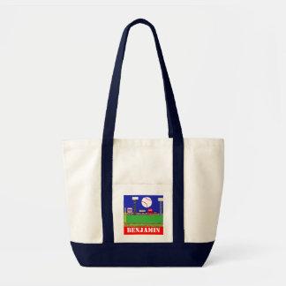 New Kids Sports Baseball Canvas Bag Gift