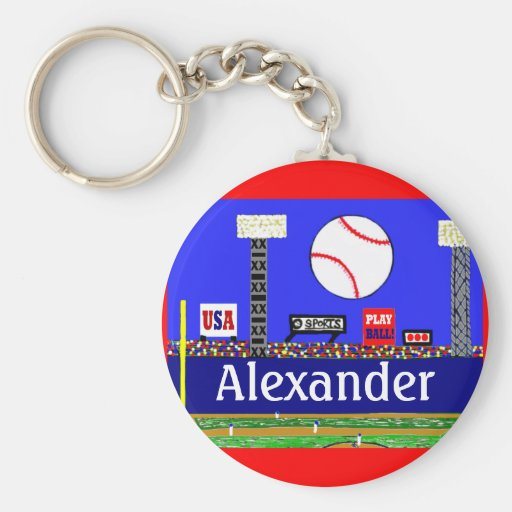 New Kids Sports Baseball Keychain Party Favor Gift