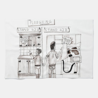 New Kitchen or New Milking Parlour Kitchen Towel