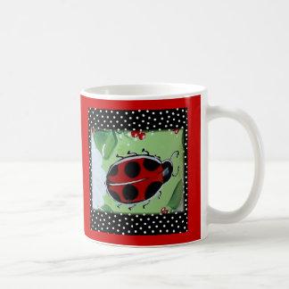 New Lady- Bugs Basic White Mug