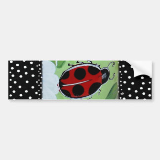 New Lady- Bugs Bumper Sticker