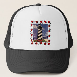 New Ladybug Lighthouse Trucker Hat