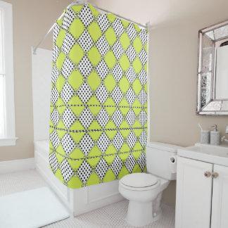 NEW_Limeade_Diamond-Dots-Mod-Classic-Bath Decor Shower Curtain