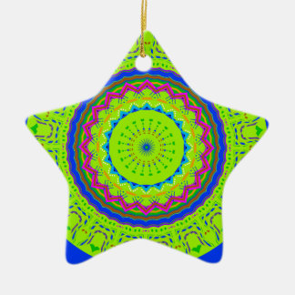 New Linear Green Blue Ornaments