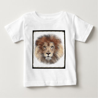 New Lion Print Baby T-Shirt