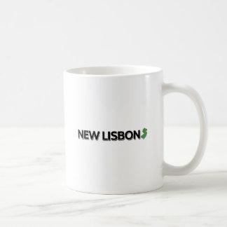 New Lisbon, New Jersey Basic White Mug