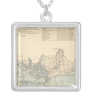 New London County Silver Plated Necklace