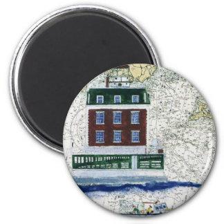 New London Ledge 6 Cm Round Magnet