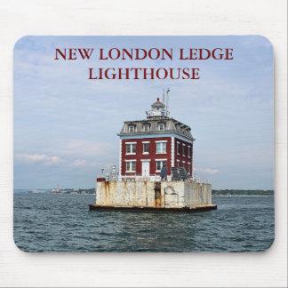 New London Ledge Lighthouse, Connecticut Mousepad