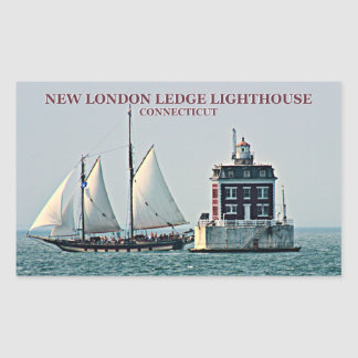 New London Ledge Lighthouse, Connecticut Stickers