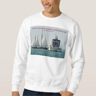 New London Ledge Lighthouse Connecticut Sweatshirt