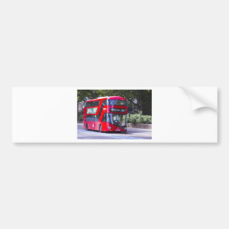 New London Red Bus Bumper Sticker