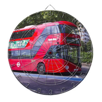 New London Red Bus Dartboard