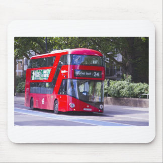 New London Red Bus Mouse Pad