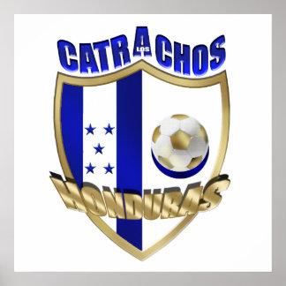New Los Catrachos 2014 Honduras futbol gifts Print
