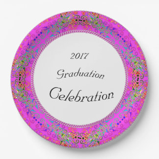 NEW-Magical-Floral-Lace-FULL-TEMPLATE-CELEBRATION' Paper Plate