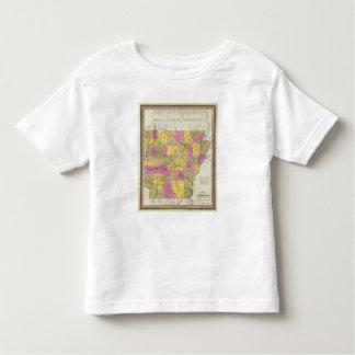 New Map Of Arkansas Toddler T-Shirt