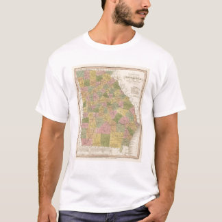 New Map Of Georgia T-Shirt