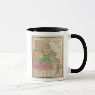 New Map Of Missouri Mug