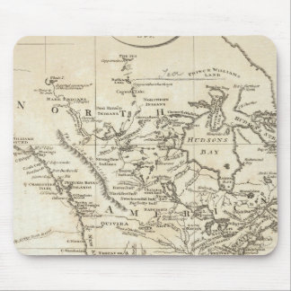 New Map of North America Mouse Mat