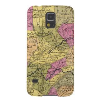 New Map Of Pennsylvania 2 Galaxy S5 Case