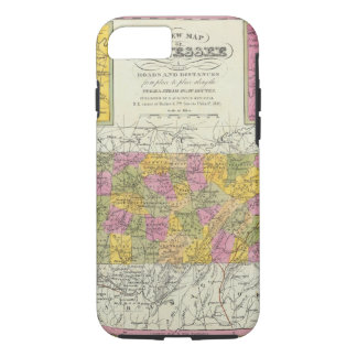 New Map Of Tennessee iPhone 8/7 Case