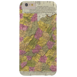 New Map Of Virginia Barely There iPhone 6 Plus Case
