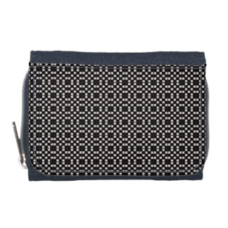 New-Market-Deco-Black-Wallet's-Multi-Styles Wallet