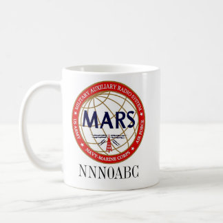 New MARS Logo w/ Call Coffee Mug