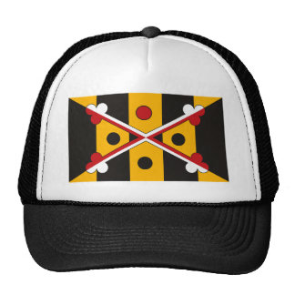 New Maryland Flag Hat