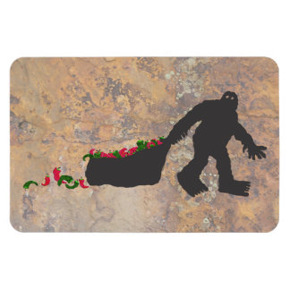 New Mexican Sasquatch Magnet