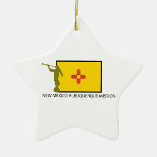 NEW MEXICO ALBUQUERQUE MISSION LDS CTR CHRISTMAS ORNAMENT