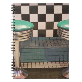 New Mexico, Albuquerque. The 66 Diner along Notebook