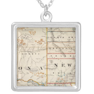 New Mexico, Arizona Silver Plated Necklace