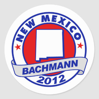 New Mexico Bachmann Stickers