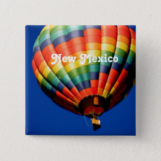 New Mexico Ballooning 15 Cm Square Badge