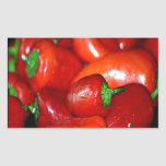 New Mexico Chilli Peppers (Chile) Rectangular Sticker
