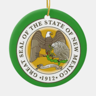 New Mexico* Christmas Ornament
