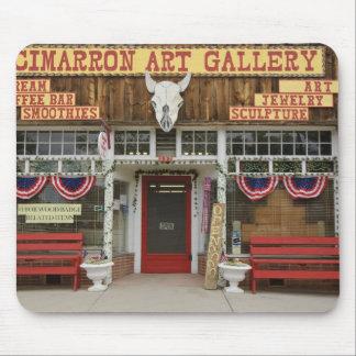 New Mexico, Cimarron. Cimarron art gallery, New Mouse Mat