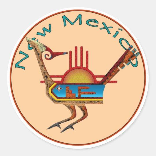 New Mexico Classic Round Sticker