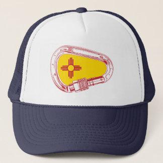 New Mexico Climbing Carabiner Trucker Hat