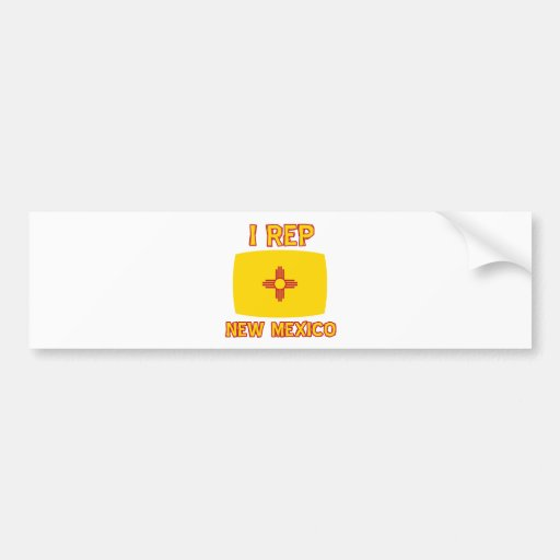 New mexico designs bumper stickers