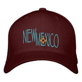 New Mexico Embroidered Cap