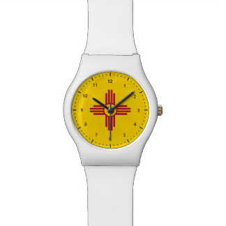 New Mexico flag, American state flag Watch