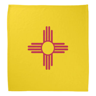 New Mexico Flag Bandana